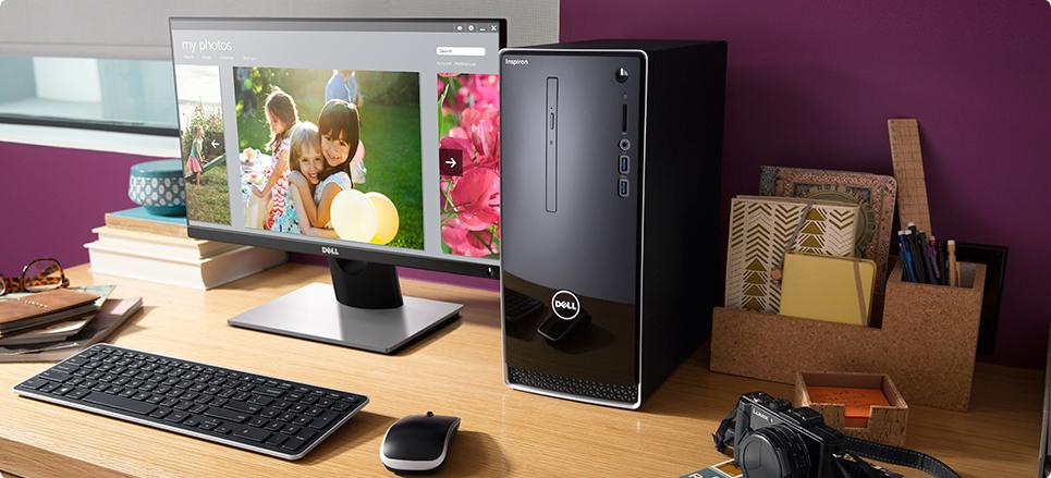 Настолни компютри Dell Inspiron (2017)